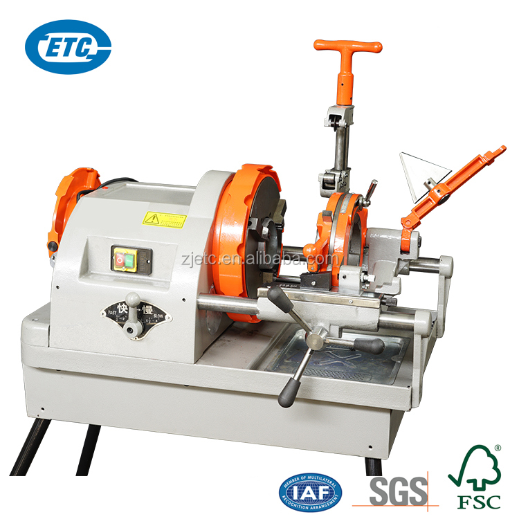 1/2-4 capacity portable electric pipe threader/threading machine