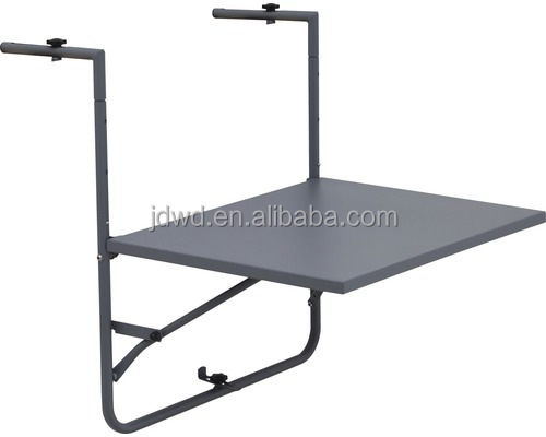 Cheap Wholesale Outdoor Steel Hanging Balcony <strong>Table</strong>