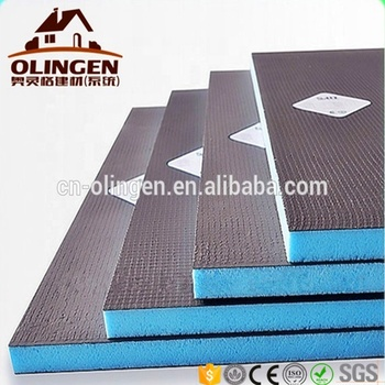Extreem Waterdichte Schuim Isolatie Fiber Cement Board Badkamer Wandtegels AH18