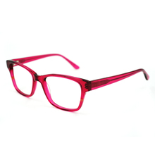 Fashion hand polished china clear lens glasses for reading