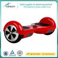 Two wheel self balance scooters 6.5 inch wheel size 2016 China factory high quality