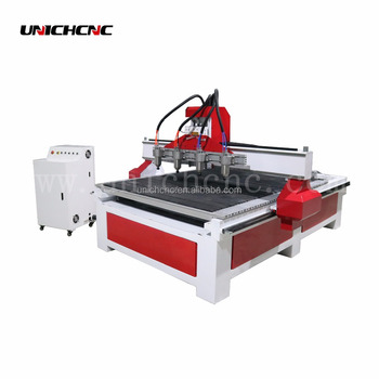 Direct sales cnc wood router four spindle 4 rotary 4 axis multi head wood cnc router machine