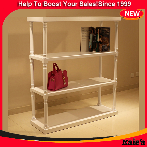 white wooden display shelves wooden display rack furniture for shoe store