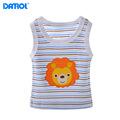DANROL Summer Baby Vest Tank 5 pcs lot Cartoon Embroidery Casual Cotton Sleeveless Boy Tees Girl
