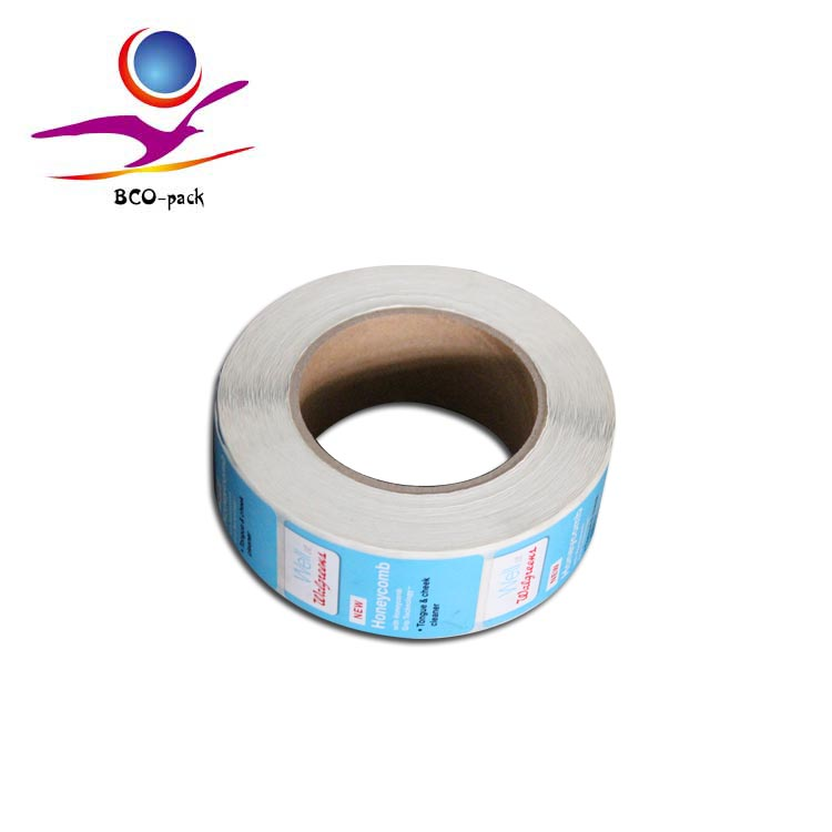vinyl adhesive sticker roll