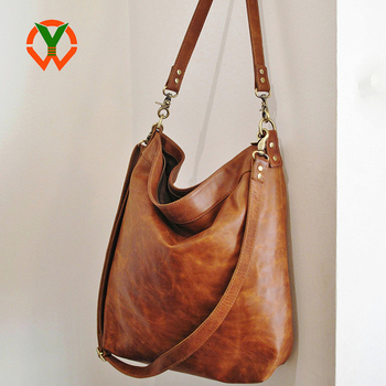52ca5f949181 Soft Fashionable Vintage Tan Vegan Leather Women Crossbody Bags ...