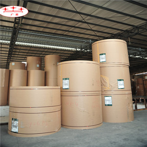 Virgin brown sack kraft paper for cement bags