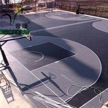 Plastic Outdoor/indoor Sport Court Flooring - Buy Sport Court ...