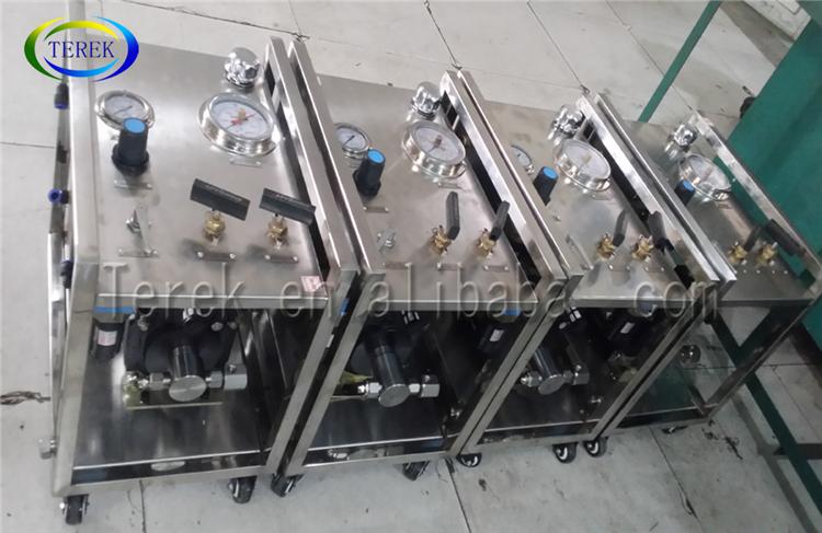 川高圧 0 〜 100 バー油圧試験油ポンプ圧力テストキット