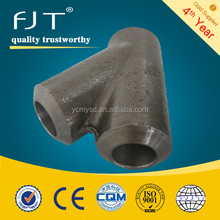 forged pipe fittings carbon steel y tee fittings