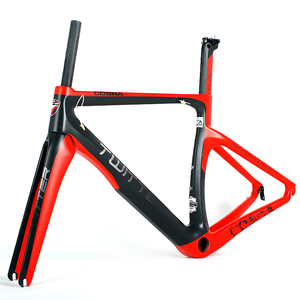 chinese oem carbon fiber road bike frame with 1.10KG Frame 0.50KG Fork 0.22KG Seat Post
