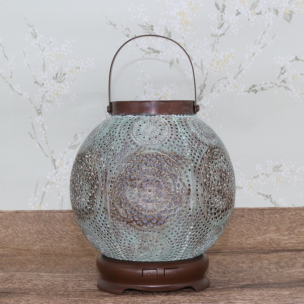 Iron aroma diffuser essential oil diffuser/metal nebulizer atomizer/ aromatherapy diffuser with metal