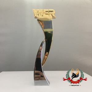 China Manfacurer Custom Made 3D Laser Concept Metal Trophy Awards / Medals