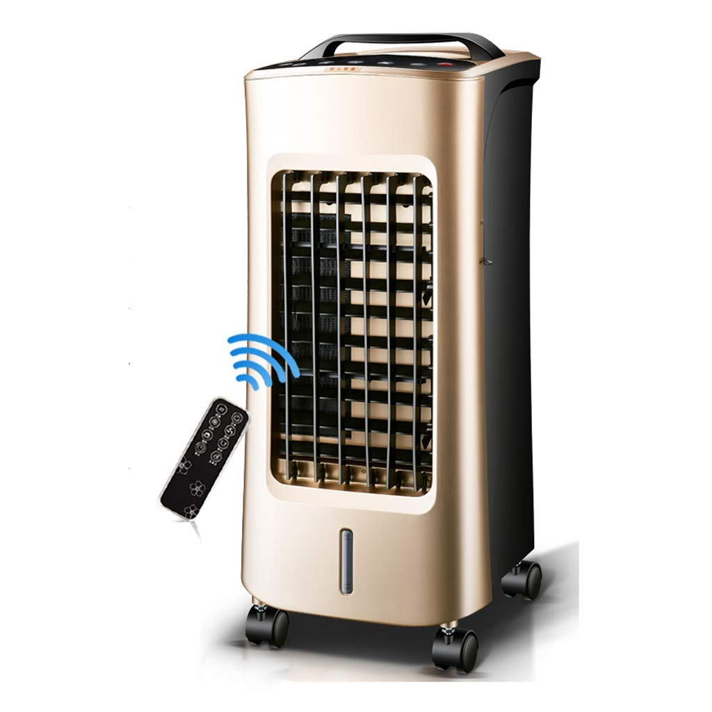 Air Cooler Cooling And Heating Air Conditioner Fan, Personal Space Cooler With Wheels, With Remote Control And Timer, Evaporative High Pressure Blower, Air Purifier