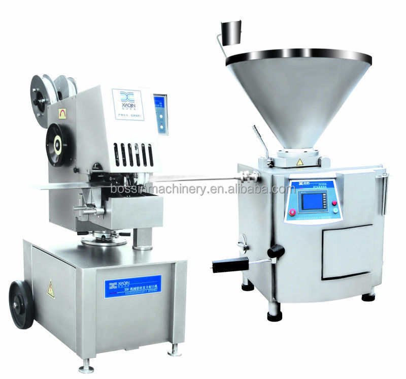 China Made SSK Automatic Aluminum wire double clipping machine Sausage Double Clipper sausage processing line