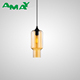 Amber Smokey Grey Clear Fog Glass Pendant Lighting Lamp for optional