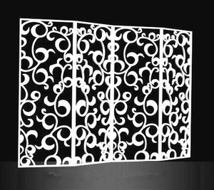 decorate your house! make folding screen room divider
