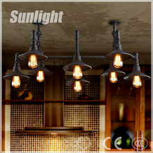 Loft retro restaurant industrial country pub Pendant lighting lamps The sitting room the bedroom conduit droplight