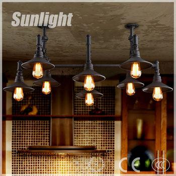 Loft Retro Restaurant Cafe Industriële Land Hanglamp Lampen De ...