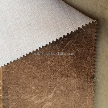 Polyester Ultra Suede Fabric Bronzing