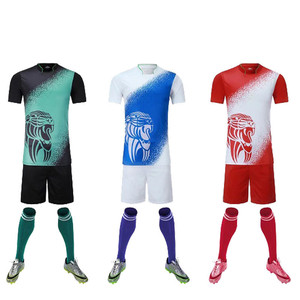 men plate football clothes Training Games men's soccer jerseys adult blank soccer sets custom name and number