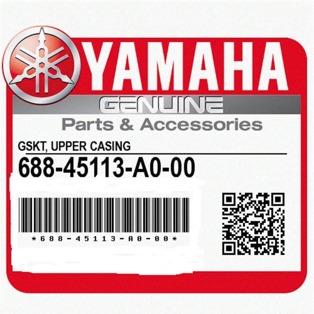 Yamaha 688-45113-A0-00 Gskt, Upper Casing; Outboard Waverunner Sterndrive Marine Boat Parts