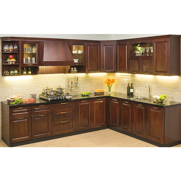 Widely Used Superior Quality kitchen <strong>cabinets</strong> solid wood modern furniture