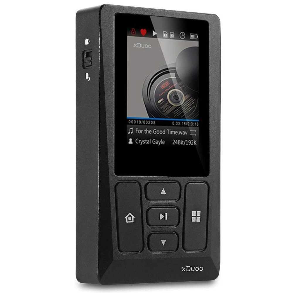 """xDuoo Digital Output Only HiFi Portable Music Player """" X10T """"(BLACK)【Japan Domestic genuine products】"""
