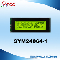 5.4inch lcd touch screen table 240*64 LC7981 car hud display with industrial machinery equipment