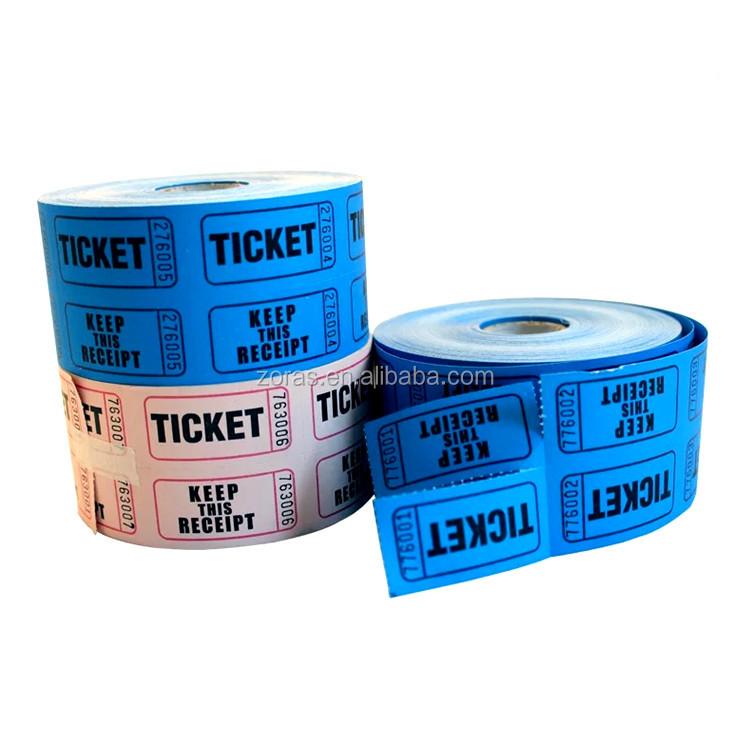 Zoras Groß BILLIGE Kundenspezifische Lotterielos, Gewinnspiel Ticket Großhandel MIT Scratch Folie Beschichtung