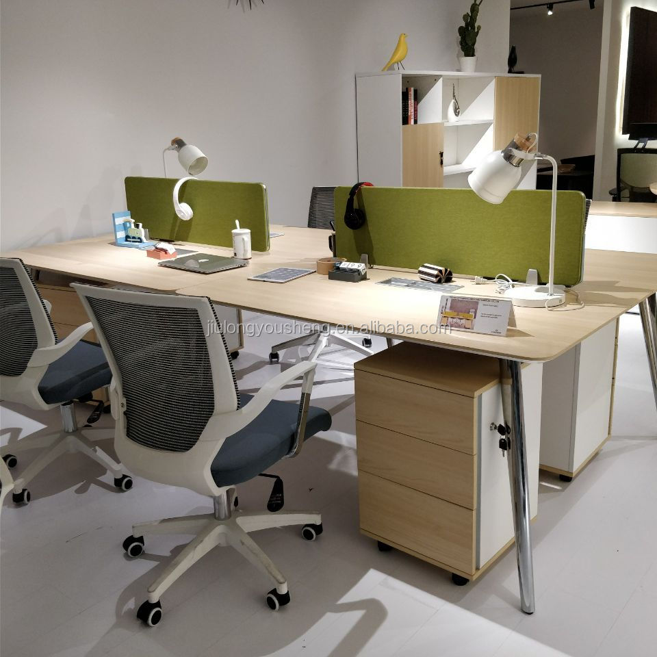 Foshan Shunde Lecong office furniture factory 366 seat workstation desk  wooden partition 366-P366-36, View Shunde Lecong office furniture factory,