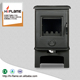New design steel plate wood burning stove HF905 with wood box