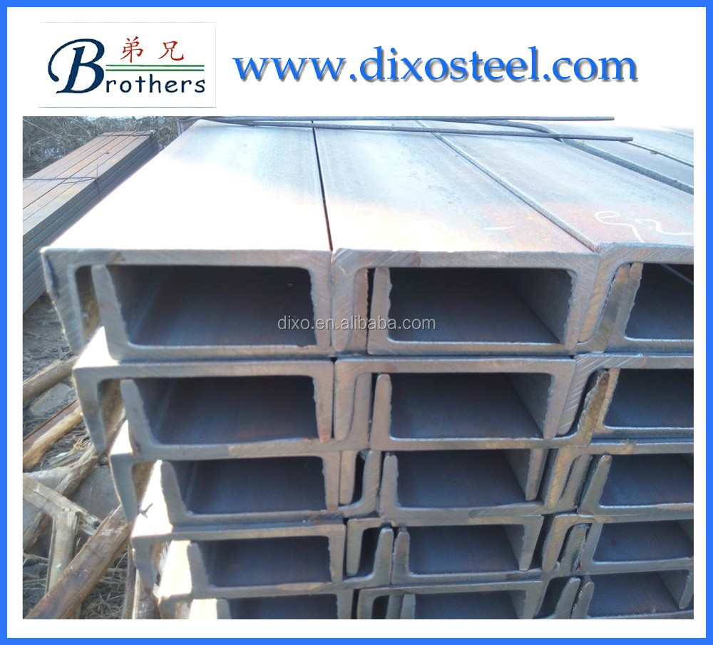 complete size price hot rolled u channel <strong>steel</strong> for Tangshan China factory
