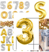 2014 Limited Real Decorations Gifts Gold Foil Number 3 Ballons 16 Inch 38cm Full 0 9