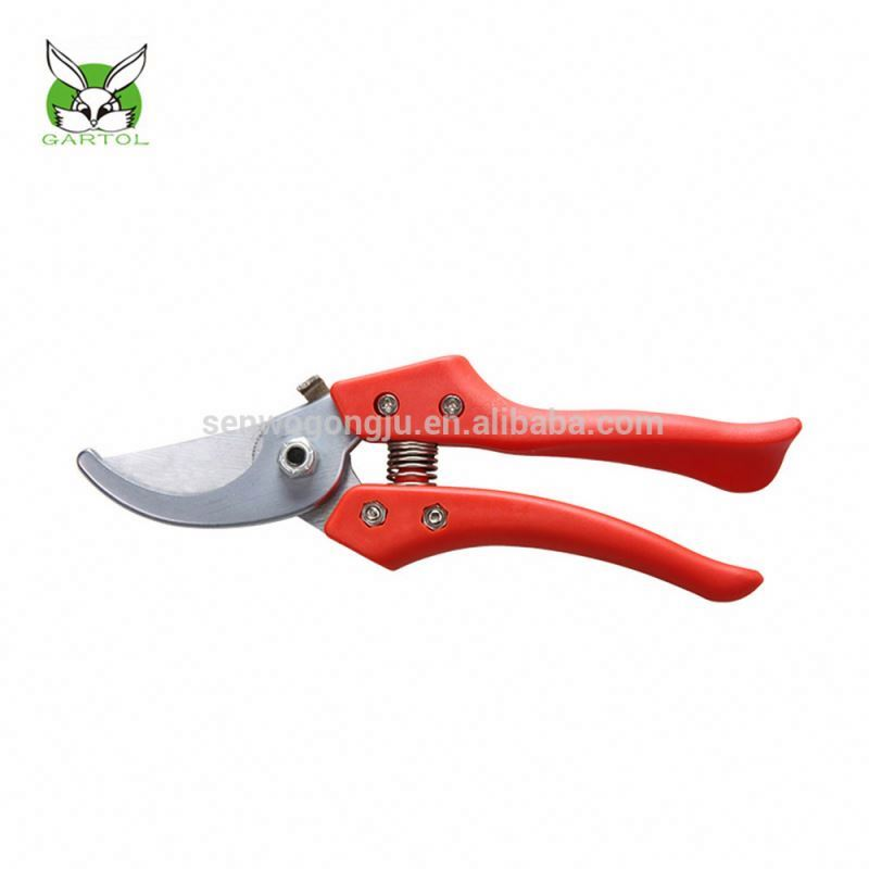 Cheap PP handle bypass pruner secateurs with High Quality made in China