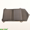 SINOTEK 7W usb output high efficiency portable solar panel charger back