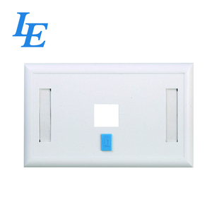 86*86Type data outlet single faceplate