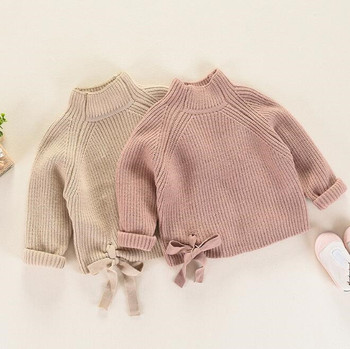 cy10528a pure color kids girls Korean fashion school sweater with pattern