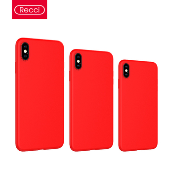 Recci Mousse series PC + Liquid Silicone protective cases for iPhone XS/iXR/iXS Max