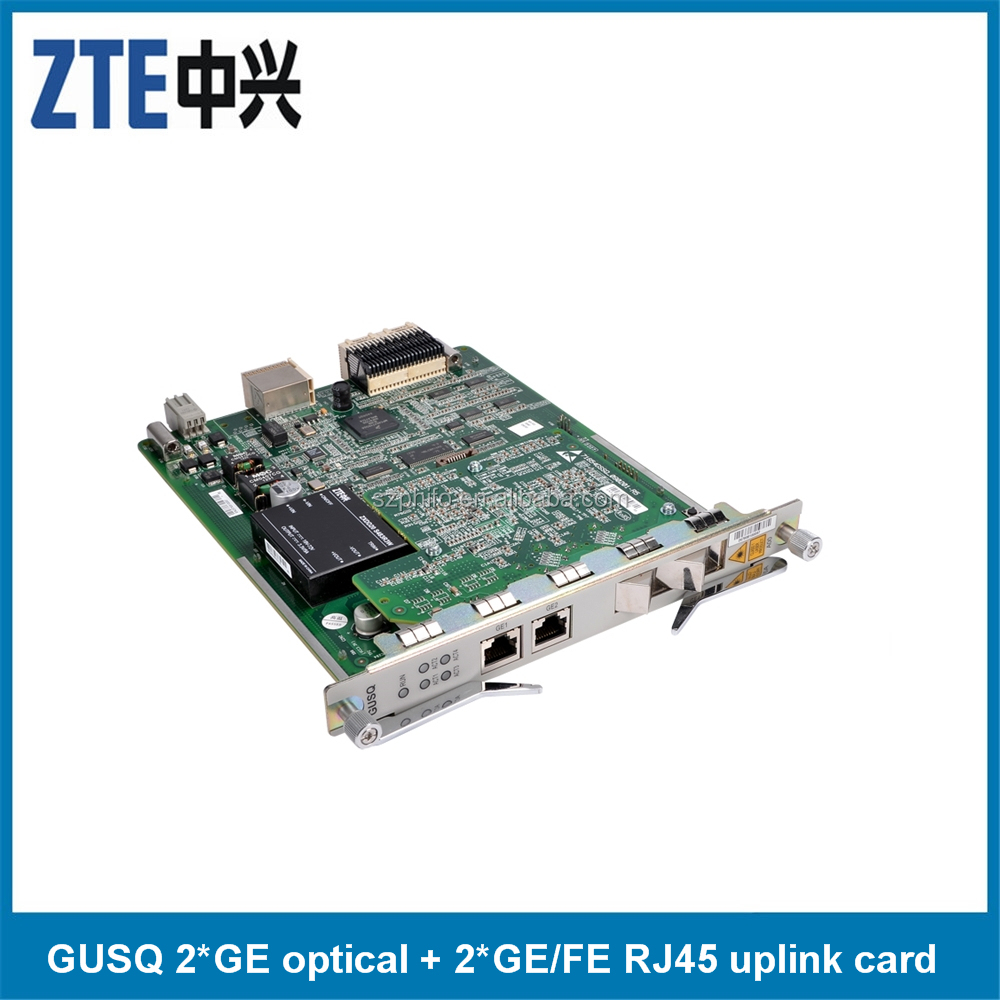 ZTE GUFQ with 4*GE/FE optical interface Ethernet uplink card