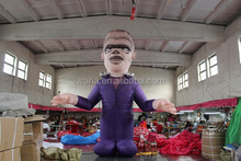Halloween decoration purple giant inflatable monster
