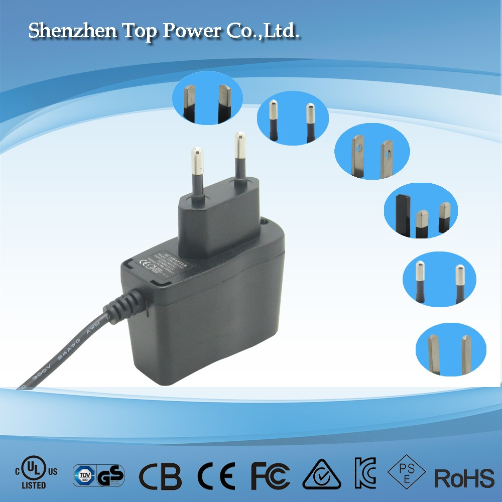 12V 0.5A 5wswitch power adapter for LED LCD TV RGB(CE, FCC, C-tick, SAA, RoHS, UL etc certificates)
