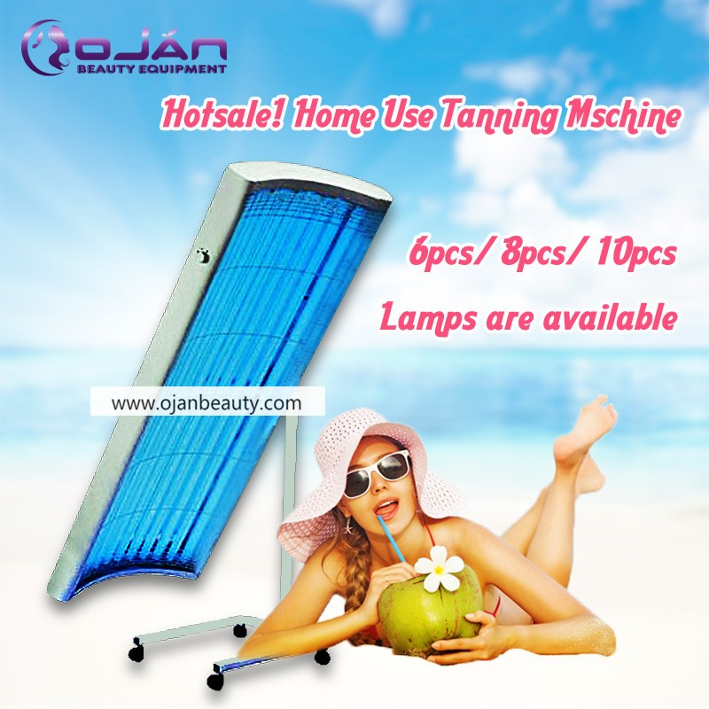 home use portable lying solarium machine/tanning bed/collagen solarium machine