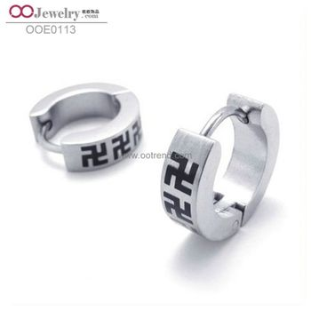 Competitive Products Dro Earrings For Women Black Cross Earrings For Women With CE Certificate