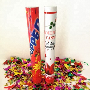 Wholesale wedding birthday party confetti cannon shooter handheld  compressed air confetti party popper