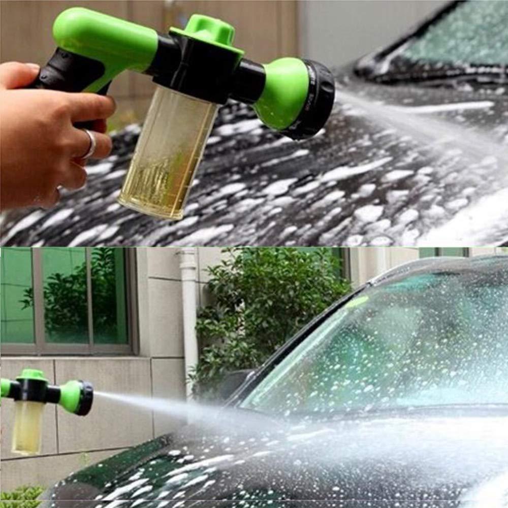 carzkool 2017 New 24cm Multifunction Car Home Garden Foam Water Gun Car/Motor Washer Water Gun Portable high Pressure Car Wash Water Gun