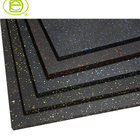 100% recycled rubber material practical gym floor mats