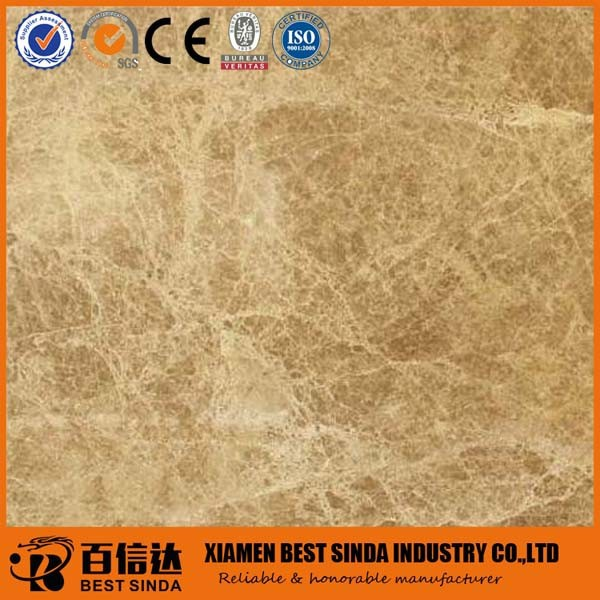 Light Emperador brown color cheap marble tile