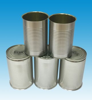 1l Round Food Tin Cans