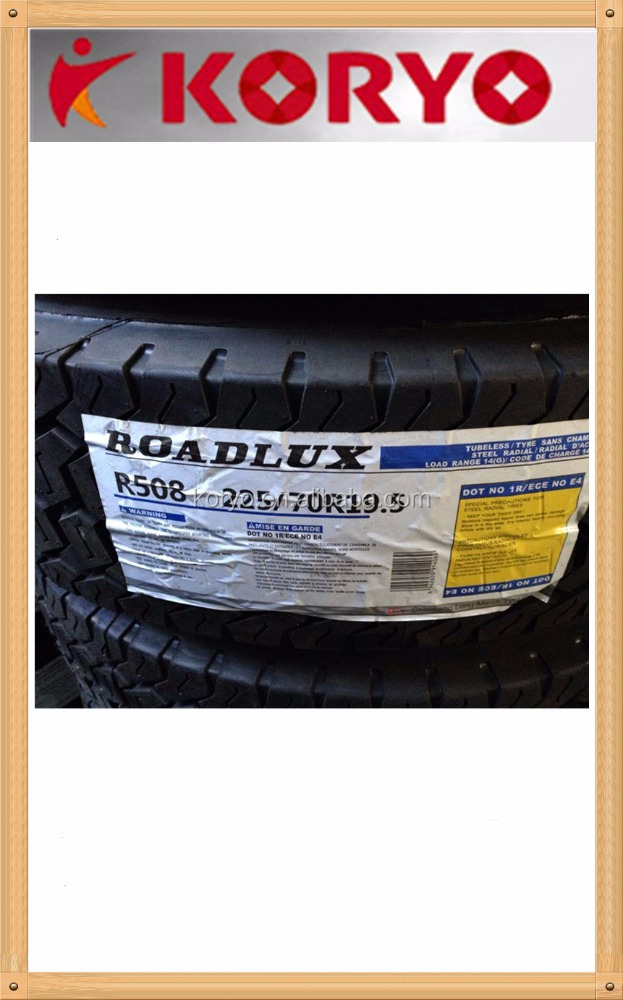 LONG MARCH/ROADLUX best chinese brand truck tire lower price 315/80r22.5 385/65R22.5
